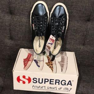 SUPERGA 2750 COTMETU BLUE SNEAKERS